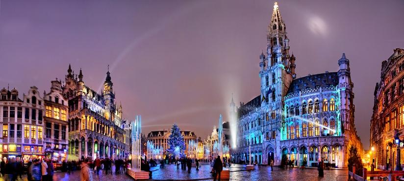 брюссель рождество Брюссель, обзорная экскурсия