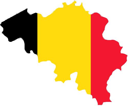 Belgium flag map 1 Церковь Святого Жиля в Брюгге