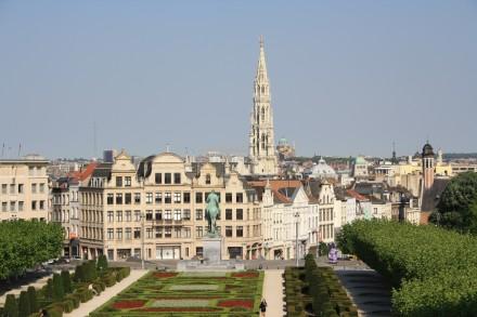 Брюссель Вид с Коуденберга 440x293 Церковь Святого Жиля в Брюгге