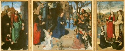 triptih portinari 440x180 Церковь Святого Жиля в Брюгге